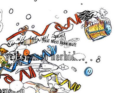 Illustrations for udskrevet.dk