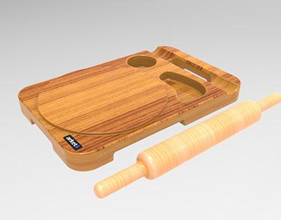 Ergonomic Rolling Pad (WIP)
