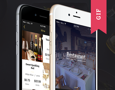 Restaurant app template