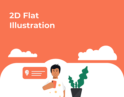 2D Flat Illustration