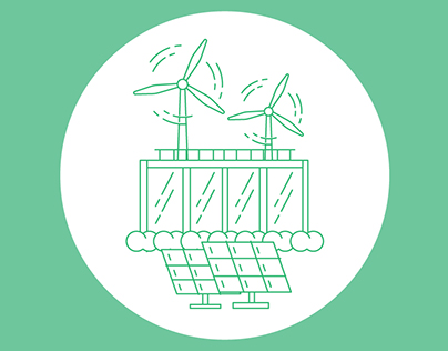 Outline design for renewable energy company