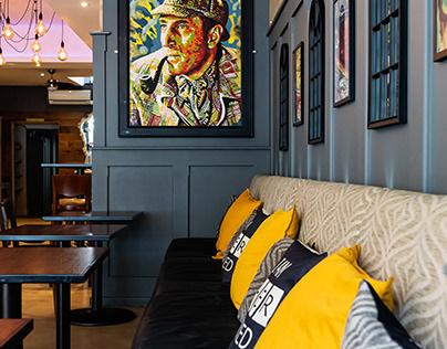 Bar Sherlock's - Portsmouth, 2020.
