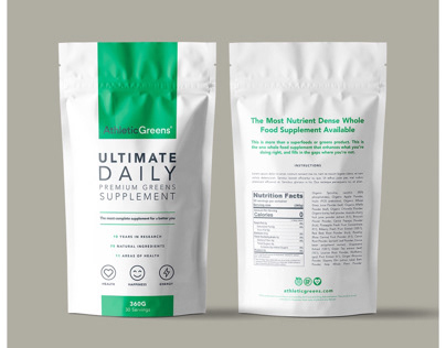 Athletic Greens | Packaging