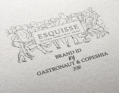 ESQUISSE BOUTIQUE HOTEL BRAND ID