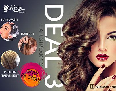 Salon Social Media Ad Campaign