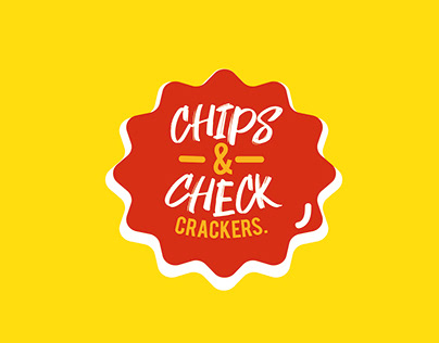 CHIPS & CHECK CRACKERS. LOGO