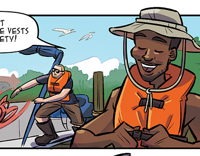 """The Adventures of Jacob the Technician"" comic book"