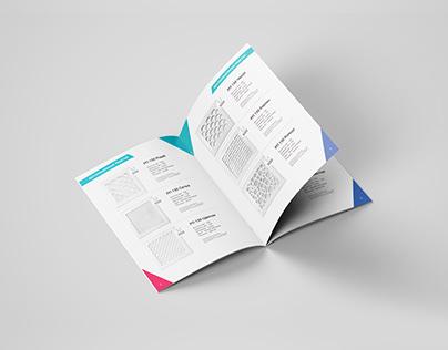 Дизайн каталога продукции.