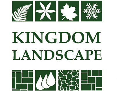 Kingdom Landscape Logo, Website, Rack Cards