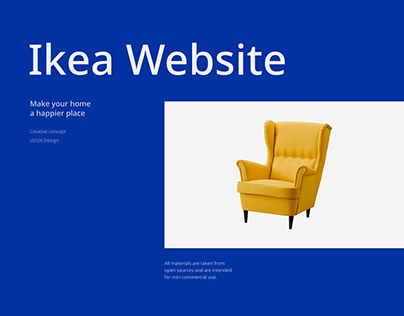 IKEA — website redesign