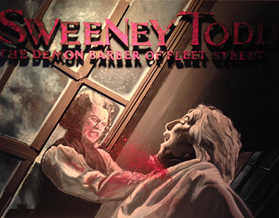 Sweeney Todd Set Design