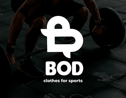 Logotype for sports clothes brand