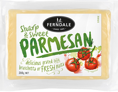Ferndale Cheese Packaging for Tried & True Design
