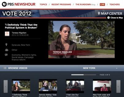 PBS Newshour - Listen to Me Interactive