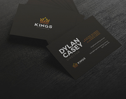 Kings Linemarking Business Cards