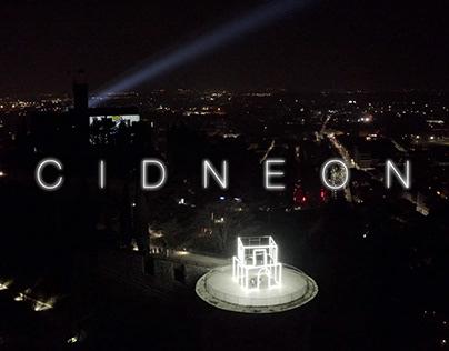 CIDNEON / CASTLE FESTIVAL OF LIGHTS / AERIAL VIDEO