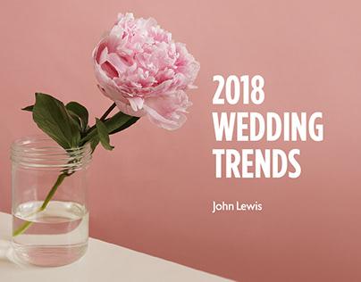 John Lewis Wedding Trends Report
