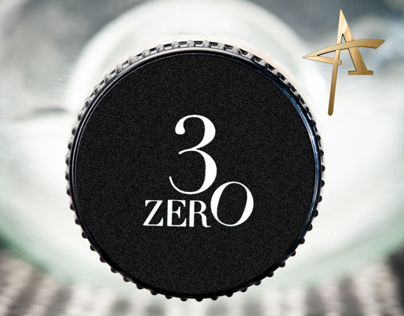 3ZERO Platinum Rum Packaging