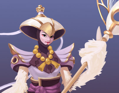 Air Mage Character Concept Art