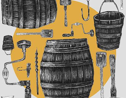 Illustrations - Sugar shack
