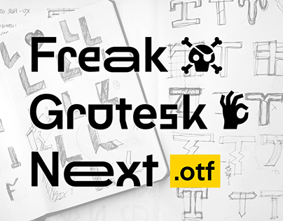 Freak Grotesk Next - Open Type Font - Free Download