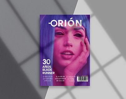 Orión cinematografía - Diseño editorial de Revista