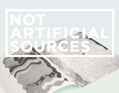 Not Artificial Sources #1
