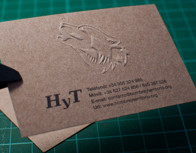 Tarjetas de visita HyT // Business cards