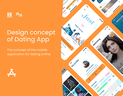 Design concept of Dating App