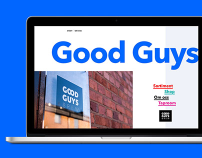 Good Guys Brew – Website