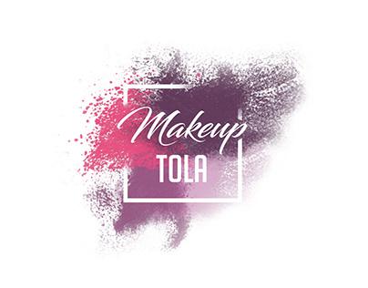 Makeup TOLA Logo - makeup artist brand logo