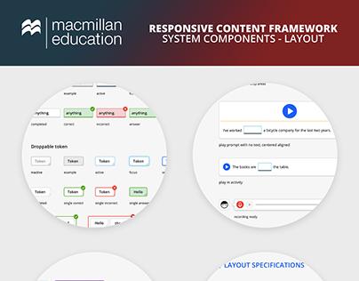 Macmillan Education RCF Controls Layout