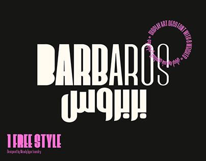 Barbaros Font Family