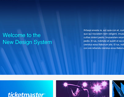 Ticketmaster Brand Guidelines Site