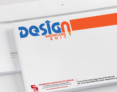 """Visual Identity Design for """"Design Showcase"""""""