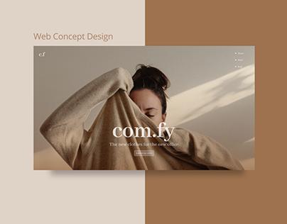 Com.fy ( Design Concept)