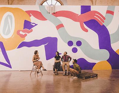 Mural Book Arsenal 2018