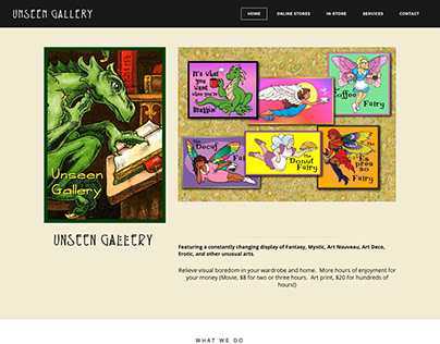 Website for Artist Darla Hallmark
