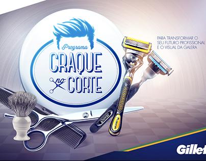 Gillette e Inst. Neymar Jr. - Craque no Corte
