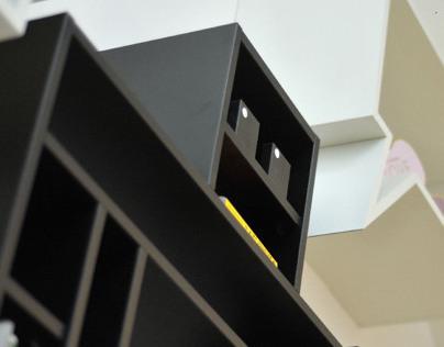 Robot shelfcase