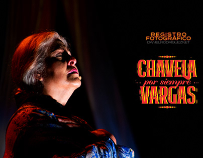 """Registro fotográfico """"Chavela por Siempre Vargas"""""""