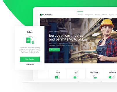 VCA Poland - Certification Booking Platform