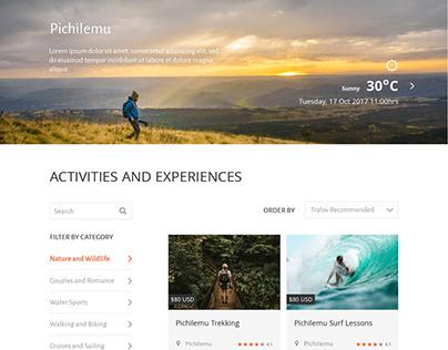 Propuesta mejoras buscador y filtros Viajes Tralov