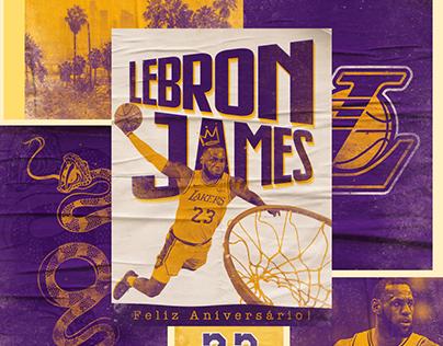 NBA | LeBron James Birthday