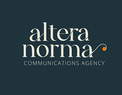 Altera Norma | Branding