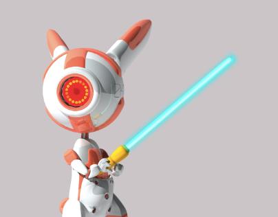 ZK16 - Little Bot Bunny