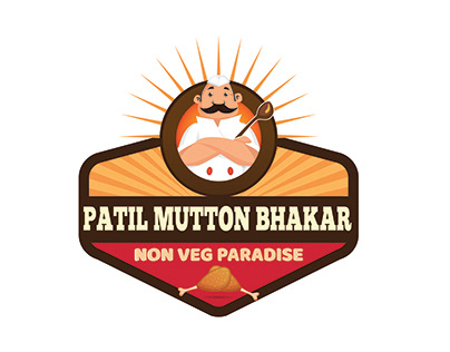 Patil Mutton Bhakar - Logo