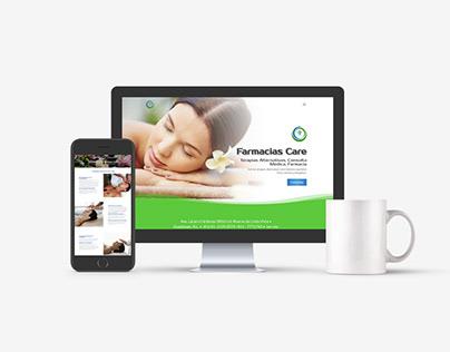 Farmacias Care Web Design
