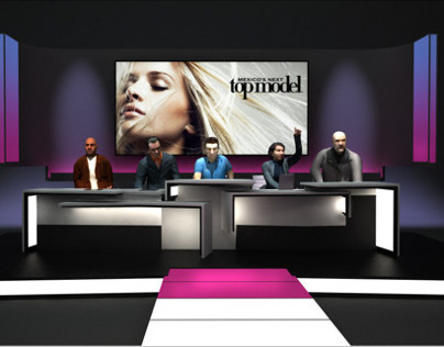 Mexico's Next Top Model - Stage Design