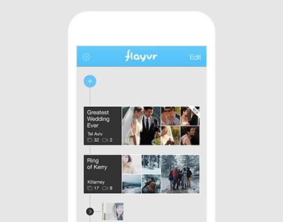 Flayvr - mobile app